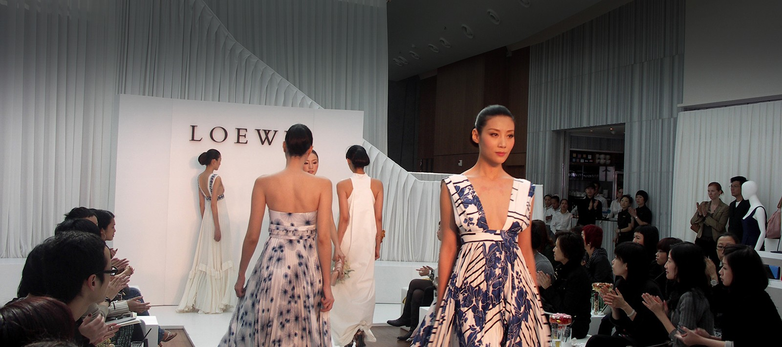Fashion exhibition design for Loewe