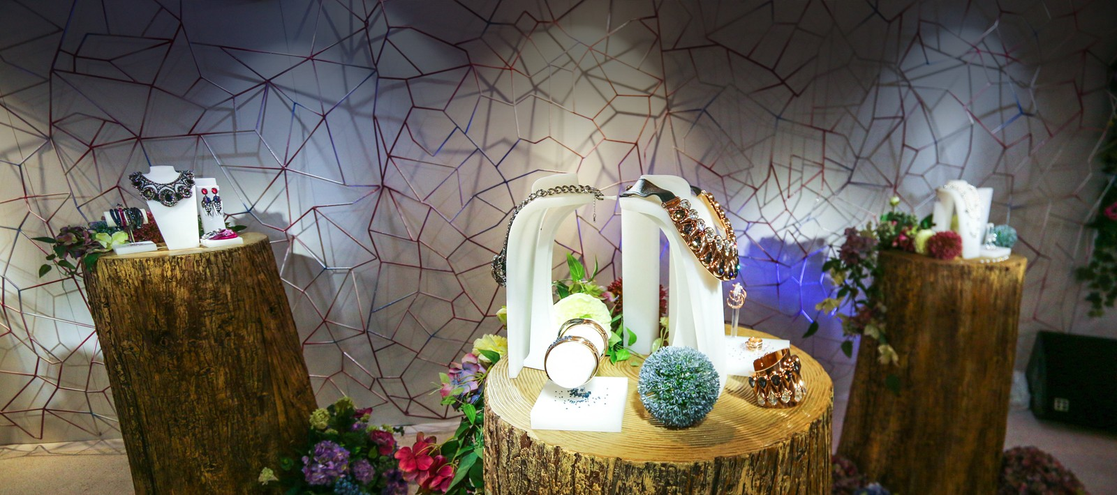 Jewelry exhibition design for Swarovski