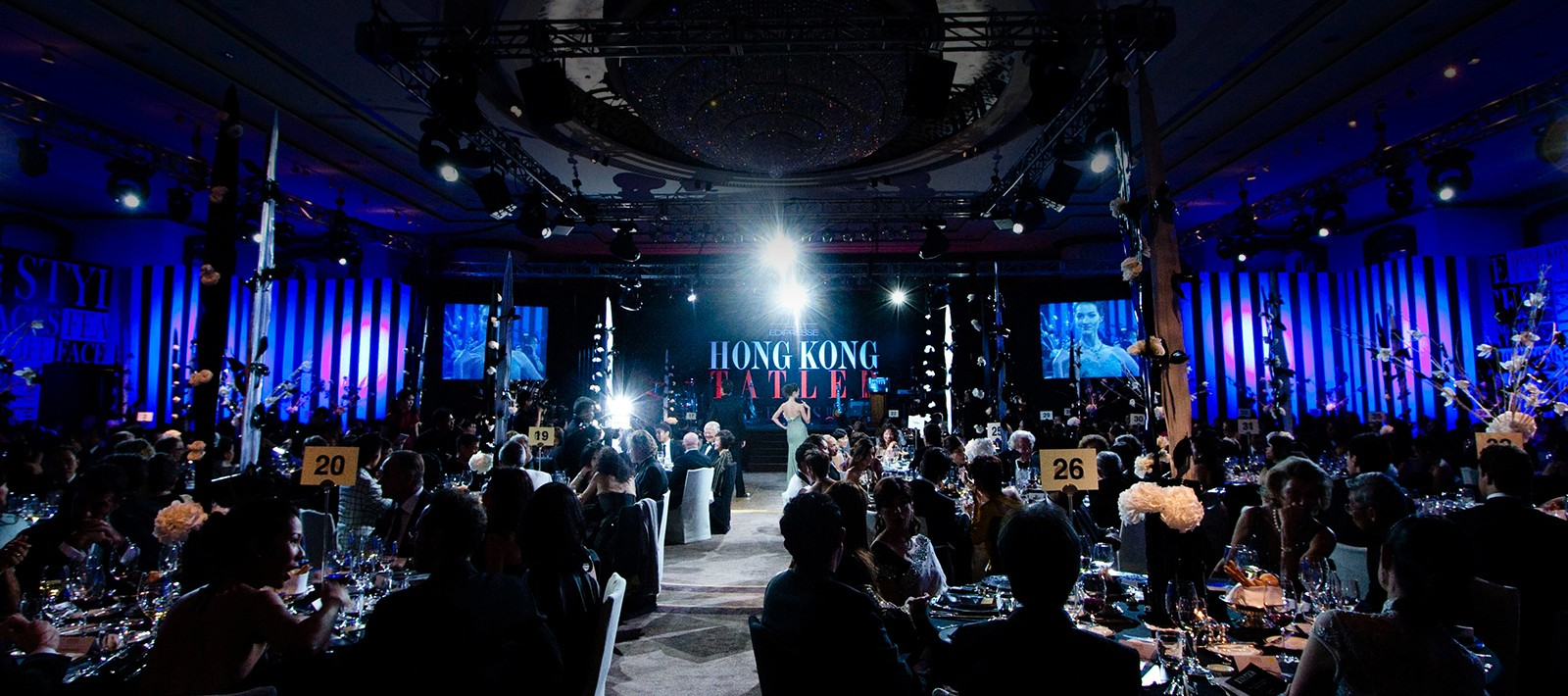 Event management for Hong Kong Tatler party