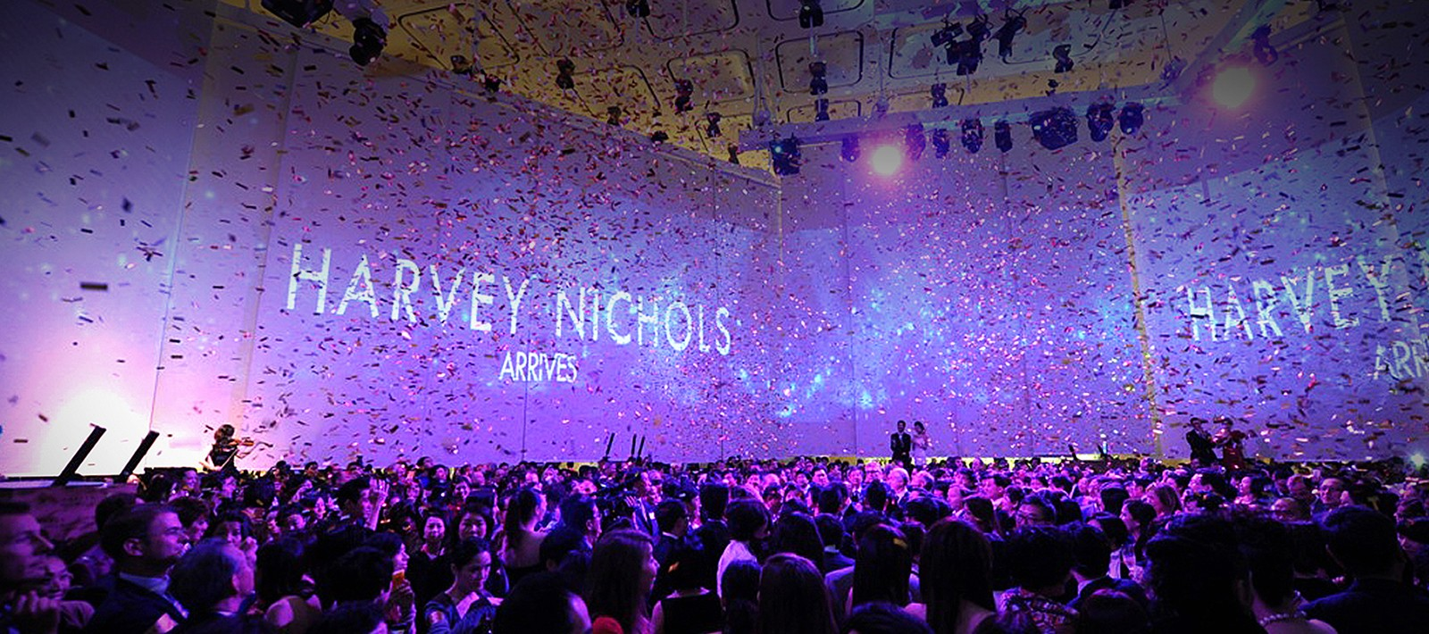 Grand opening marketing for Harvey Nichols