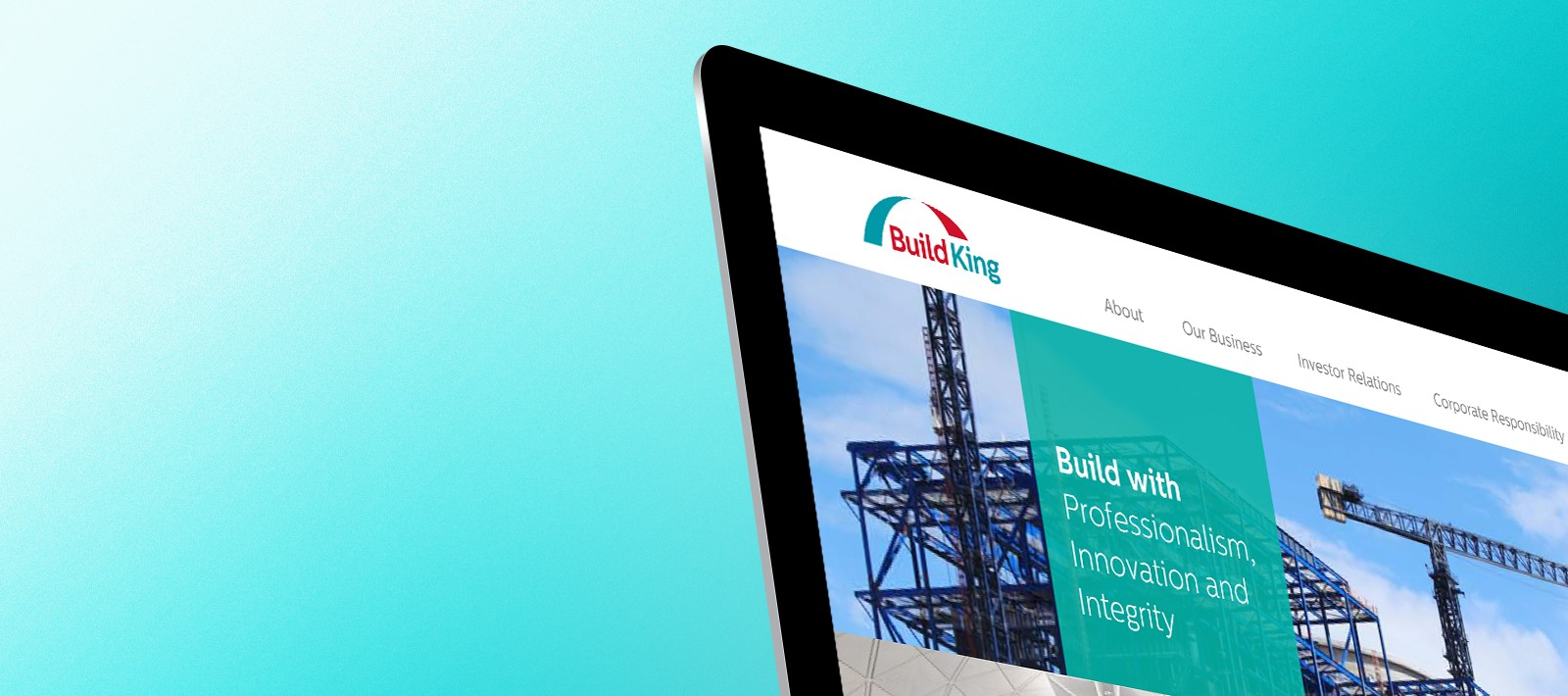 Brand refreshment for Buildking