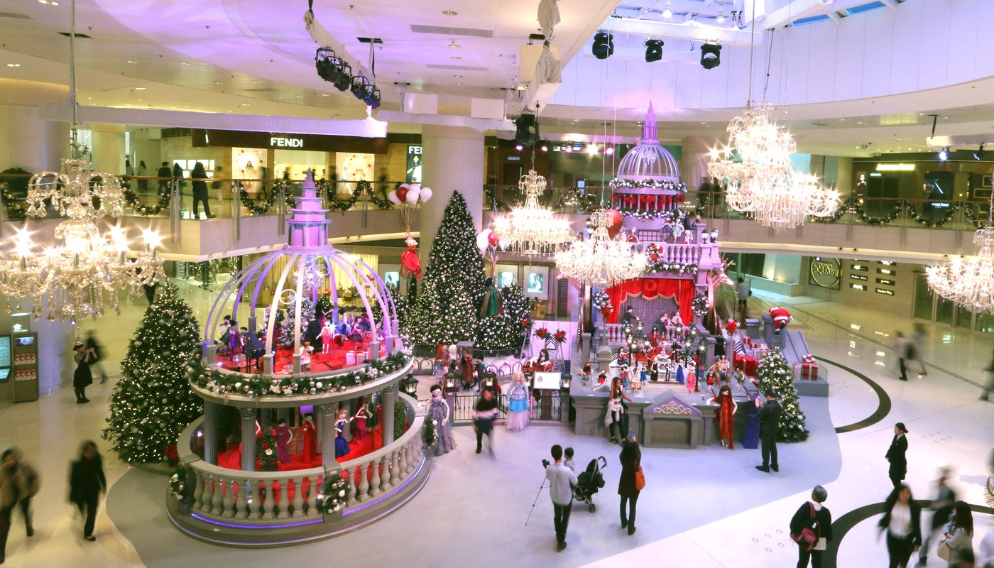 ... Occasion And Showcased In The Several Atriums And Hidden Corners Of The  Mall, Alongside A Series Of Festive Performances For A Fashionable Christmas .