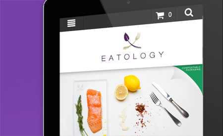 Eatology Website image