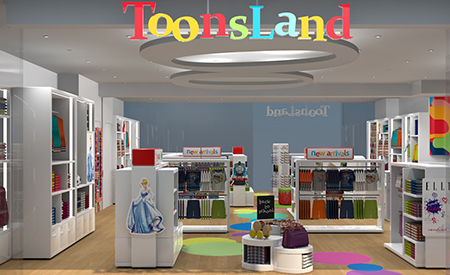 Toonsland Branded Environment image