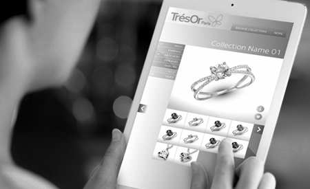 TrésOr Paris Website image