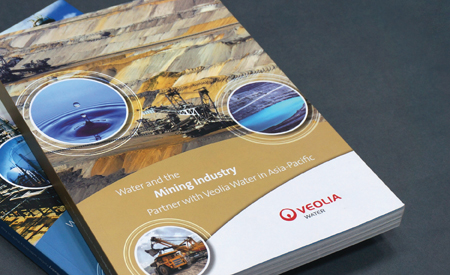 Design and Writing of 3 Booklets for Veolia image