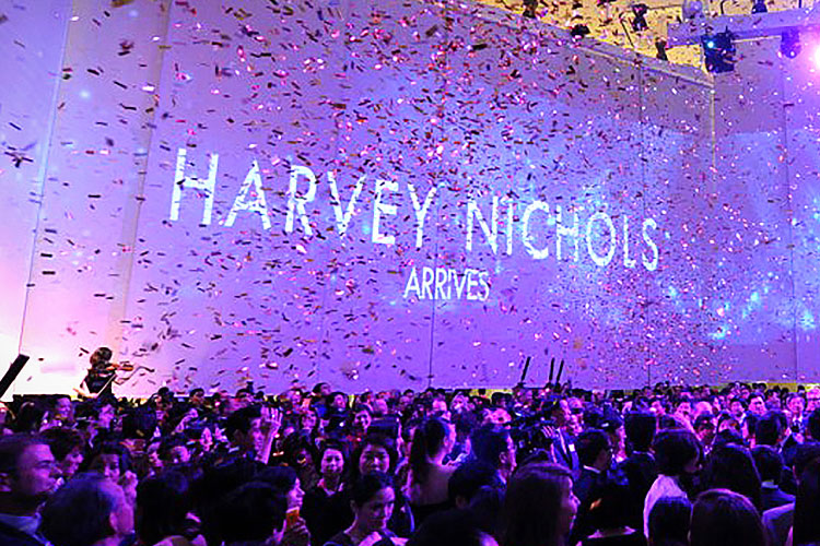 Harvey Nichols luxury fashion experiential marketing