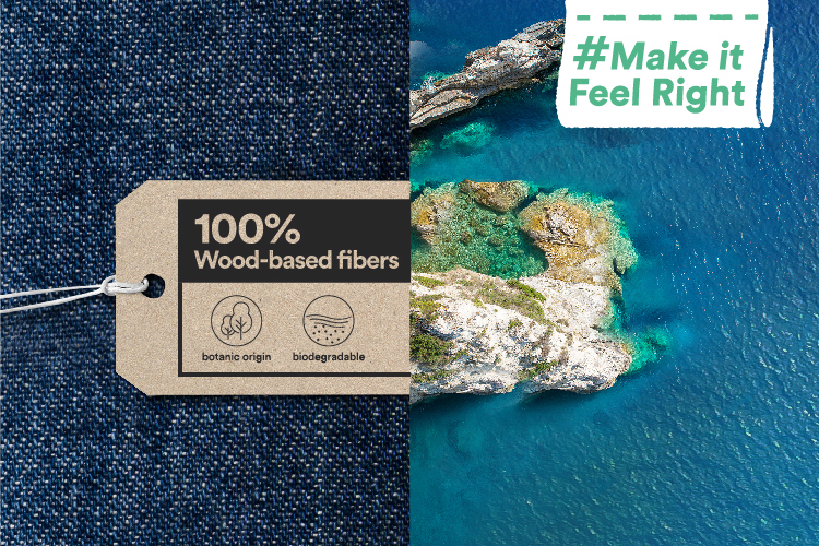 Tencel™ Make it feel right campaign
