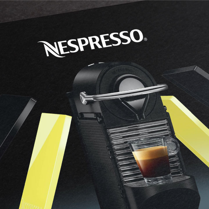 Nespresso retail design