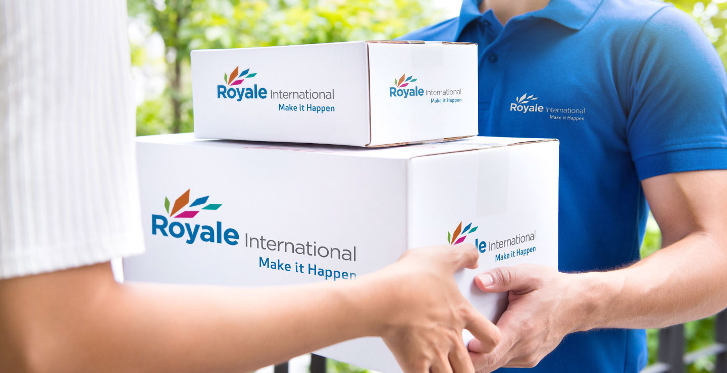 Royale Logistics brand refresh