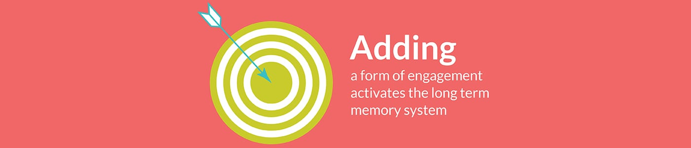 Brand activation trends: adding a form of engagement activates the long term memory system